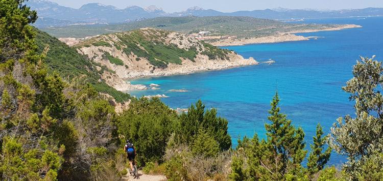 Mountainbiken mtb sardinie reis vakantie tocht routes