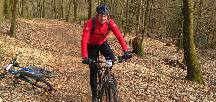 mtb racefiets weekend duitsland bergisches land