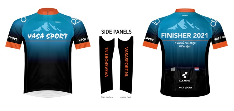 Vasa Finisher shirt 2021