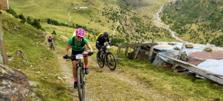 mountainbiken transalp