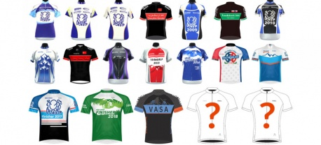 Vasa Finisher Fietsshirts 2006-2019
