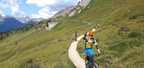 Mountainbiken in de Alpen kan weer