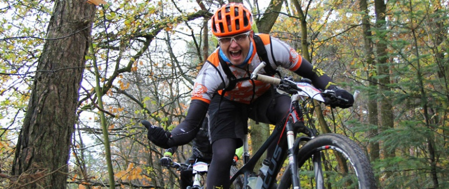 mtb clinic tocht mountainbike